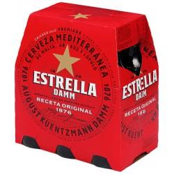 Estrella Damm | Pack 6 ampolles 250ml